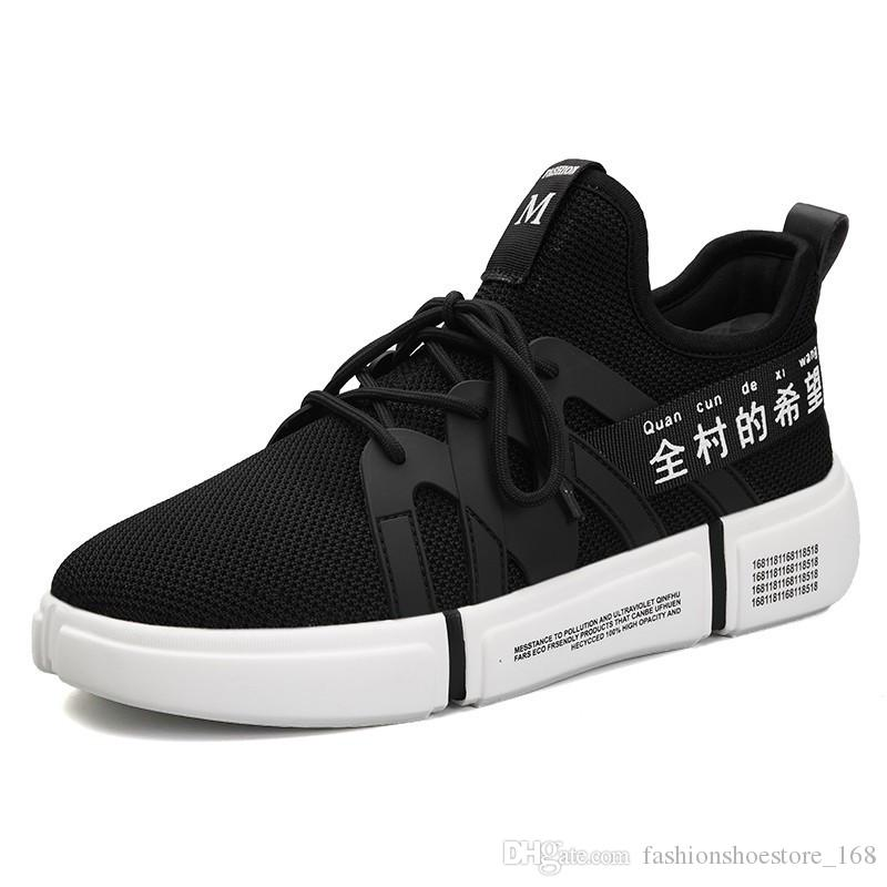 021e2d74336d11 Fashion Style Breathable Black White Sneakers Men Casual Shoes Mens  Trainers Loafers Chaussure Homme Zapatillas Hombre Casual Sneakers Men  Casual Shoes ...