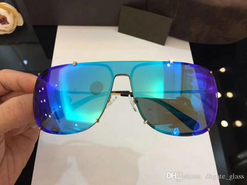 9f6c59ca047 Best Luxury Brand Classic Designer Sunglasses For Mens Nylon Lens Goggles  UV400 Full Frame Fashion Cool Glasses No Box Victoria Beckham Sunglasses ...