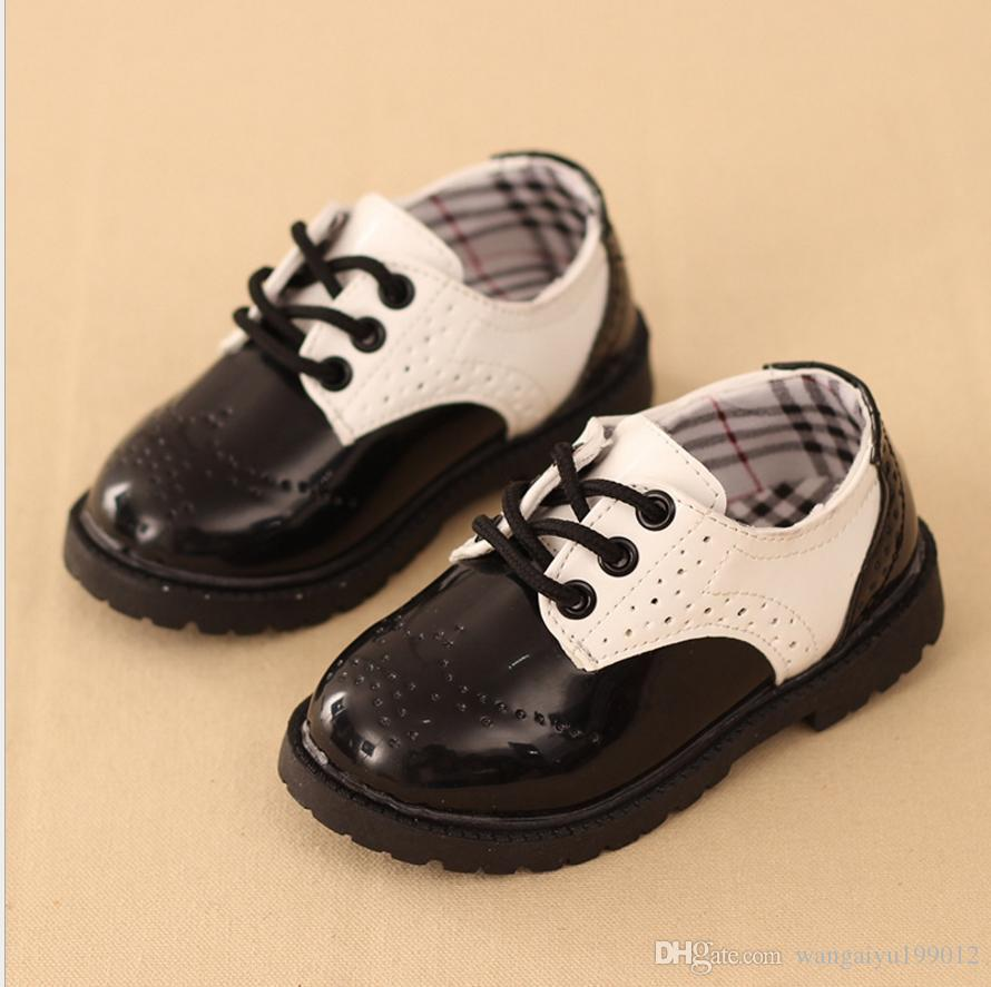 British Trend Style Boys And Girls Shoes Student Performance Shoes