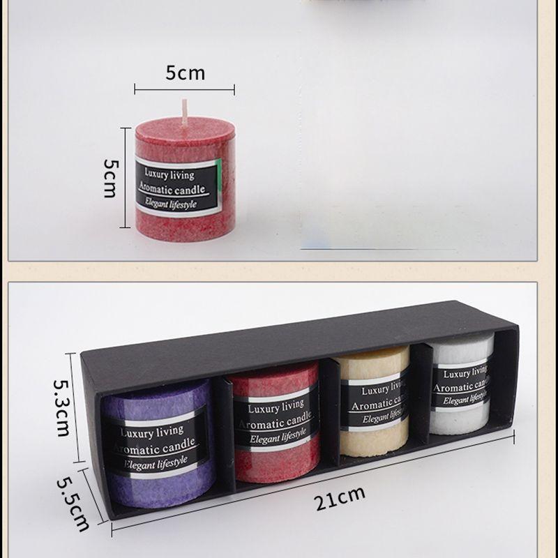 Creatif Bougie Parfumee Coffret Cadeau Salon Bar Spa Bougies Sans Fumee Romantique Parfum Cadeaux De Mariage Anniversaire Decoration Cadeau
