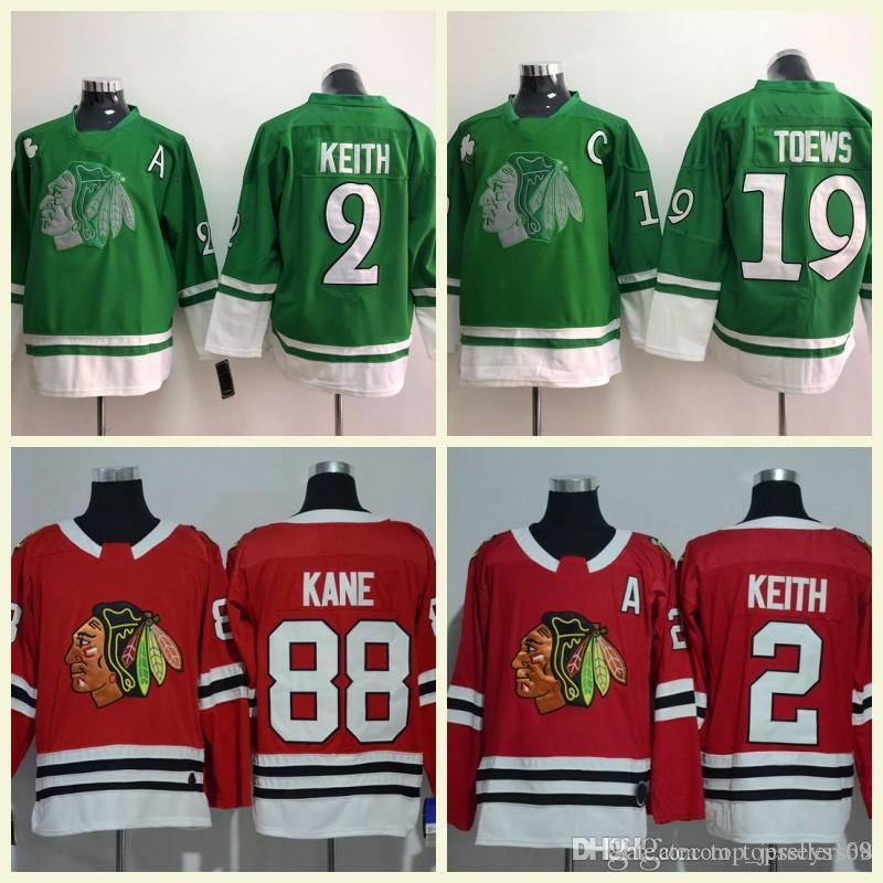 Chicago Blackhawks Hockey 12 Alex DeBrincat 88 Patrick Kane 2 Duncan ... aa5175668