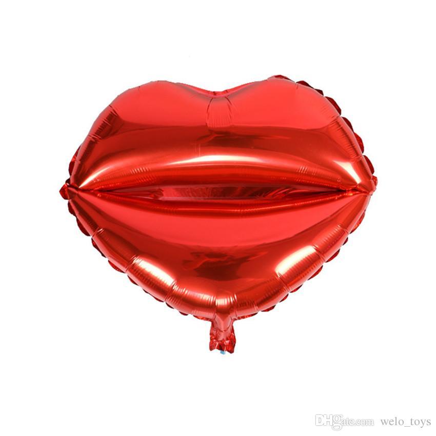 38 * 54 cm Carta de AMOR Rojo Globos San Valentín Proponer Matrimonio Foil Globo Decoración Del Partido Alfabeto Mini Aluminio Globo Unido