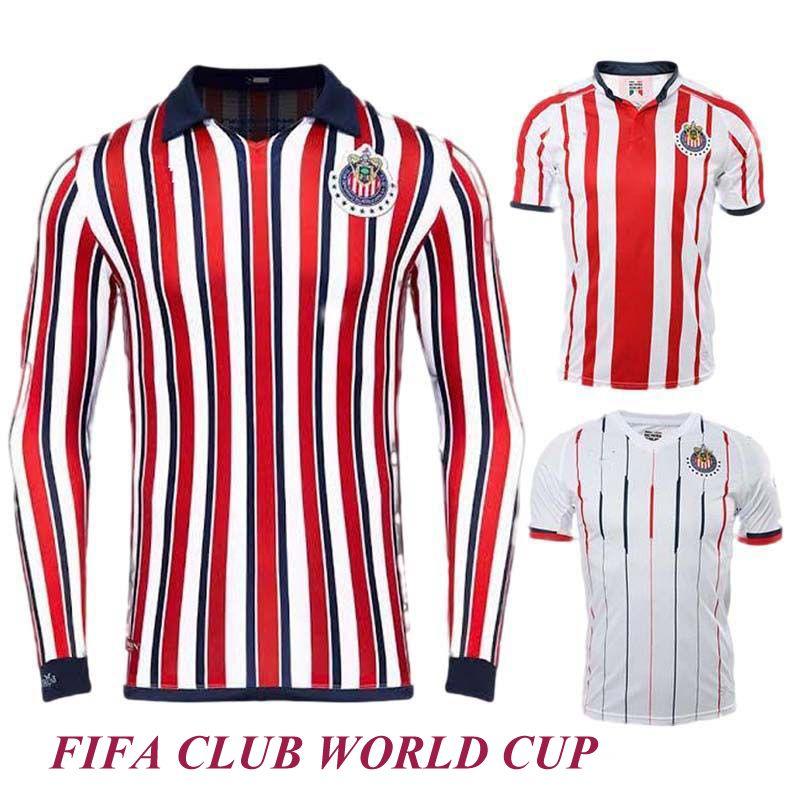 2494eff5196 2019 Thai Quality 18 19 Chivas Soccer Jerseys 2019 Chivas CLUB WORLD CUP Football  Shirts Guadalajara BRAVO O.PINEDA Futebol Camisa De Jersey From ...