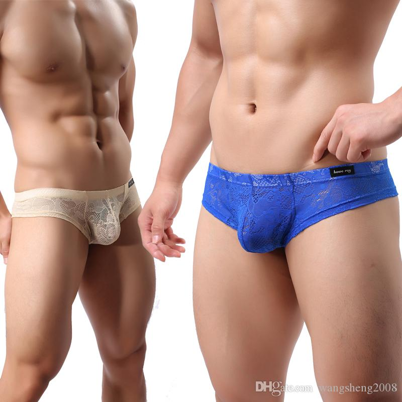 22475bd631d 2019 Bikini Nylon Briefs Men Low Rise High Quality Underwear Comfortable  Colorful Sexy Tight Gay Ice Silk Briefs 2018 Gay From Wangsheng2008