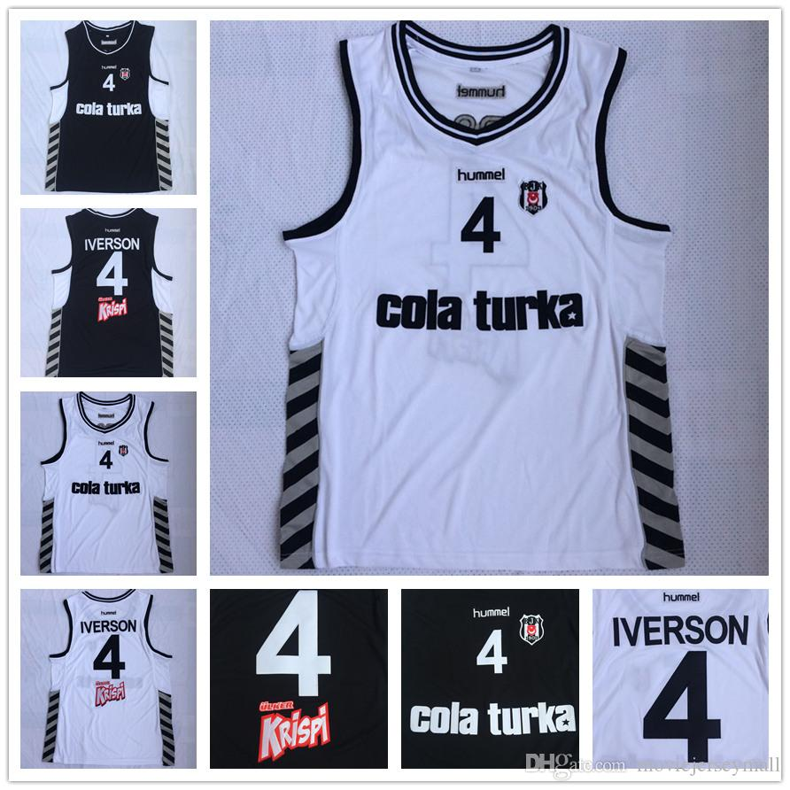 2c45bad67 NCAA Men s Allen Iverson Besiktas  4 Besiktas Cola Turka of Turkey ...