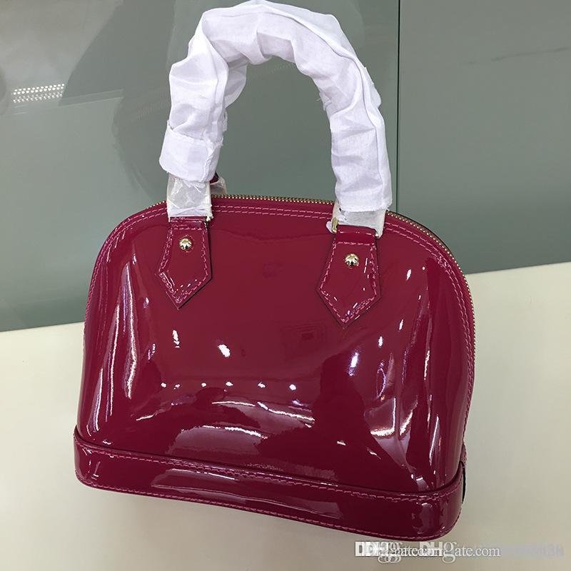 7103ec62db7a Top Quality Alma BB Epi Leather Tote Messenger Cross Body Bags For Women  Shoulder Bag Handbags Purse PM Damier Ebene Ladies M53151 PM MM BB  Wholesale Purses ...