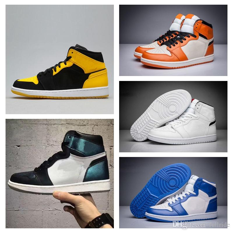 25b6ad83975e New 1 High OG Game Royal Banned Shadow Bred Toe Basketball Shoes Men 1s  Shattered Backboard Silver Medal Sneakers High Quality Shoes Basketball  Girls ...