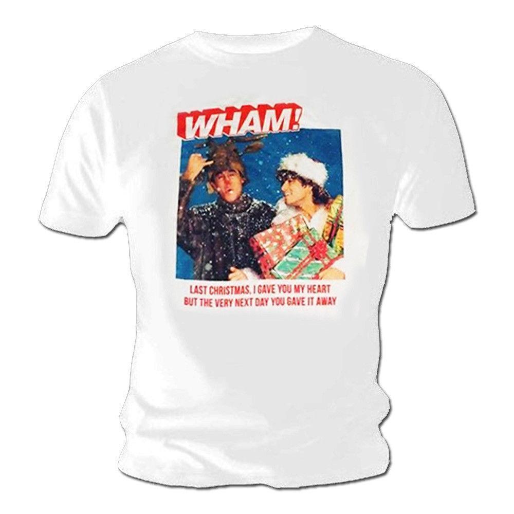 Großhandel Offizielles Weißes Shirt Weihnachten WHAM! Last Christmas ...