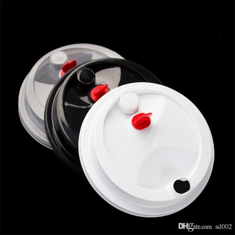 Tazze di plastica usa e getta da 700 ml 24h Addensare a iniezione di latte resistente al calore Tazza di tè Bevande calde trasparenti Succo di caffè Tazza con coperchio 135y YY