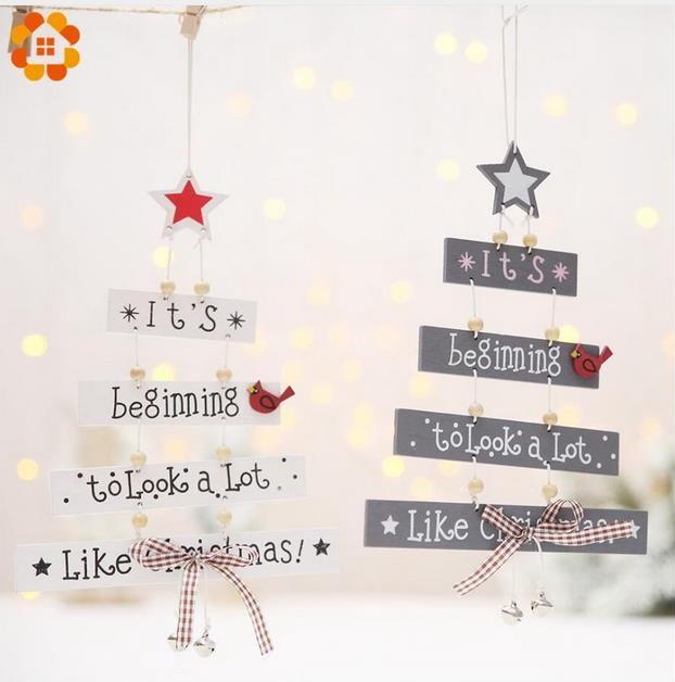Frohe Weihnachten Brief.Frohe Weihnachten Brief Holz Anhanger Ornamente Weihnachtsbaum Ornament Holz Handwerk Fur Hauptwand Weihnachtsfeier Dekoration Ga425