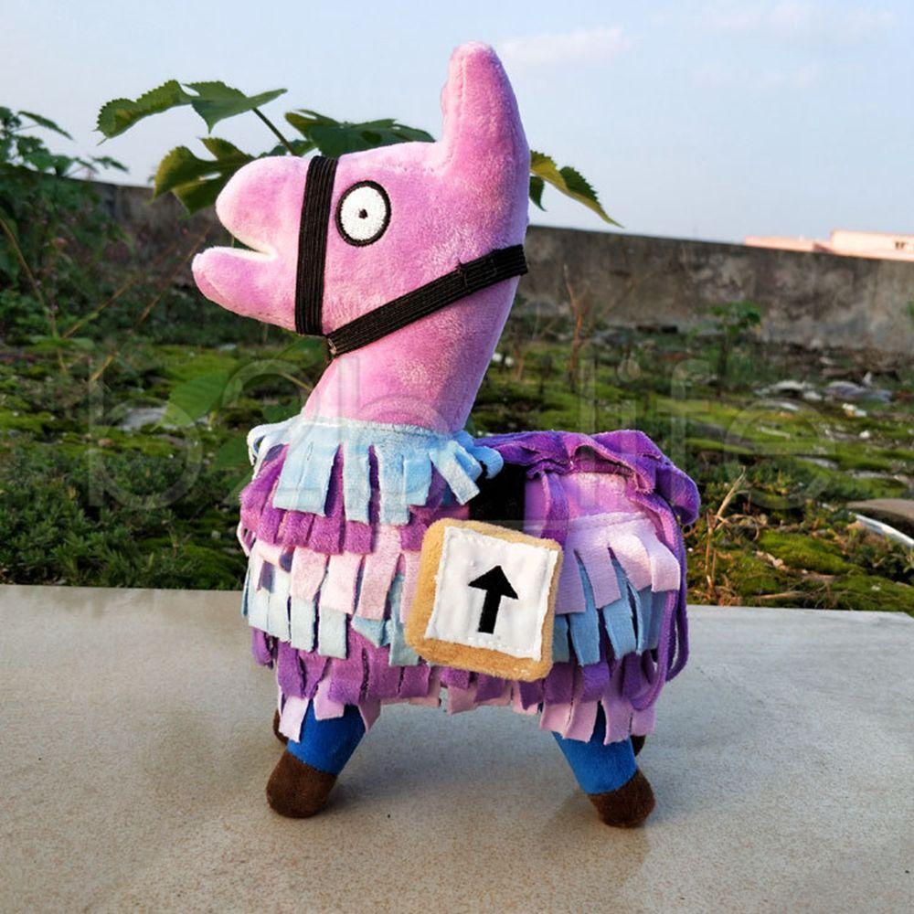 25cm fortnite plush doll troll stash llama figure soft stuffed horse