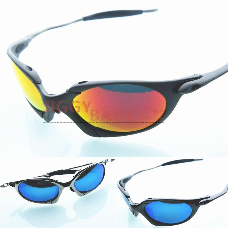 4215e6f7ed810 Top quality Romeo Sunglasses Polarized X Metal Sports Retro Brand designer  Iridium Ruby Red Colored Mirrored Lenses Men s Women Gafas Desol