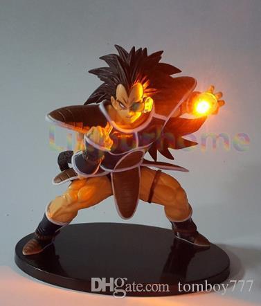 Action-Figuren Dragon Ball Z Spielzeug LED Nachtlicht Son Goku schwarz Vegeta Gohan Anime dekorative LED-Beleuchtung Kinder Geschenke heißen Spielzeug
