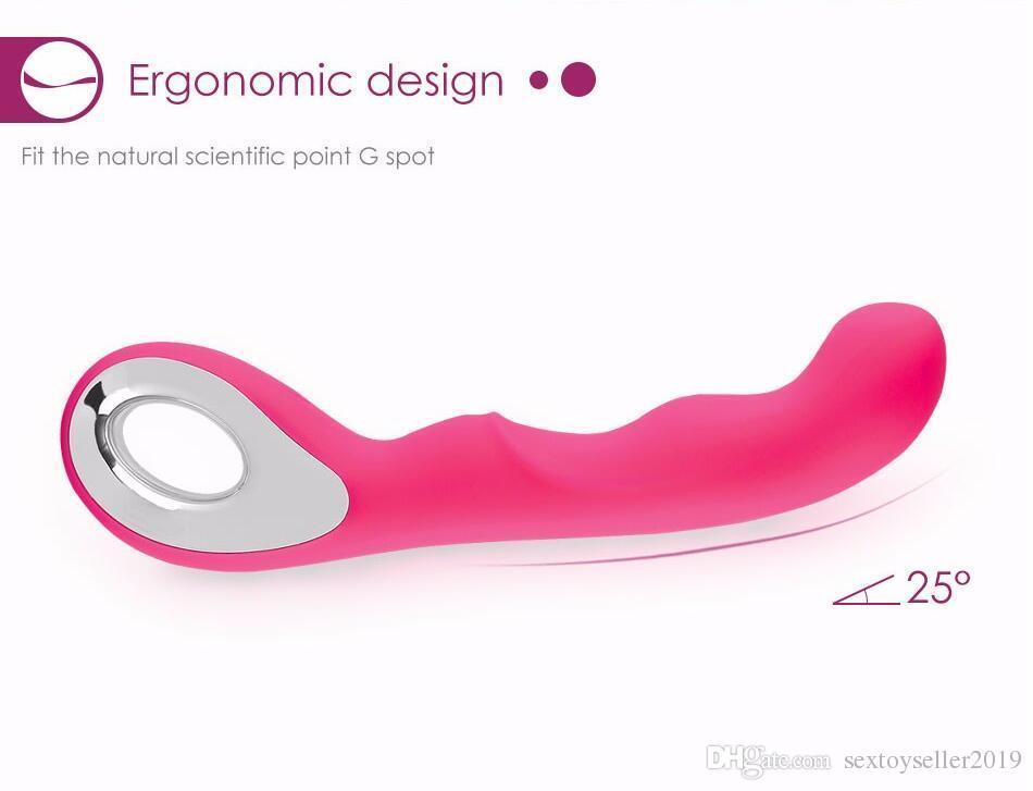 2017 wasserdichte Weibliche Masturbation Vibrator Clit g-punkt Massagegerät Dildo Erwachsene Geschlechtsprodukte Für Frau Körper massager Erotische Sex-spielzeug