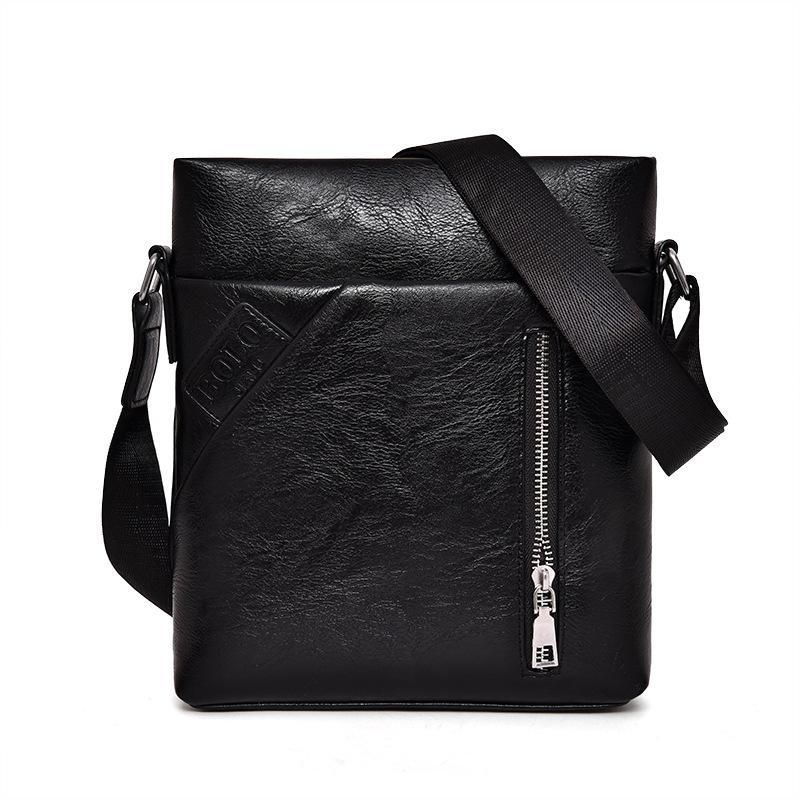 1f4401aeb160 Men Messenger Bag Vintage Men S Crossbody Bag Bolsas Male Famous Brand Polo  Design Pu Leather Men Casual Business Leather Clutch Purse Cross Body Purses  ...
