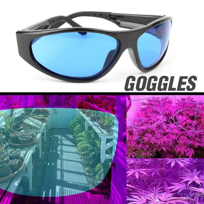e5f8076bee Plant Light Eye Protect Glasses LED Grow Room Glasses Anti Glare Anti UV  Green Blue Lens For Tent Greenhouse Hydroponics Metal Halide Grow Light  Full ...