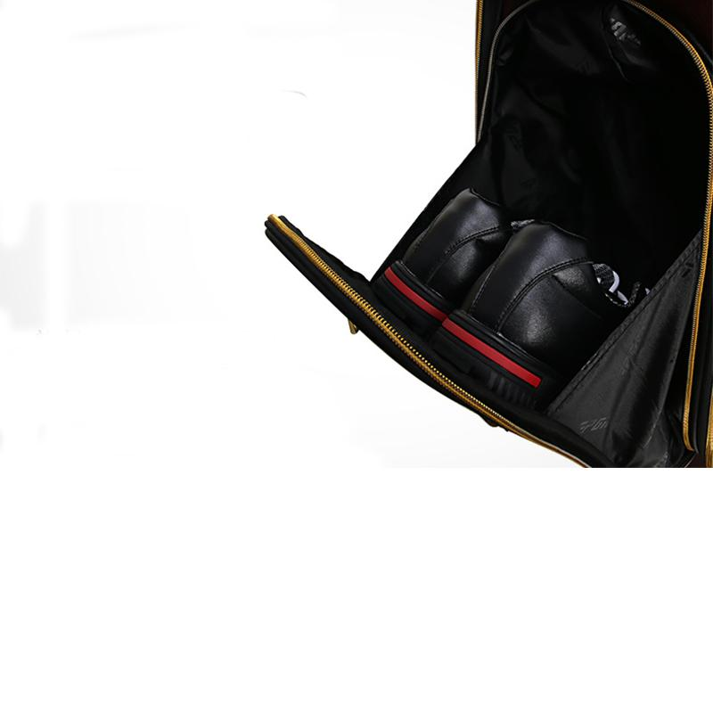 PGM Genuine Leather Golf Aviation Bag Cow Leather Golf Bags For Ball ... f366322e8ad15