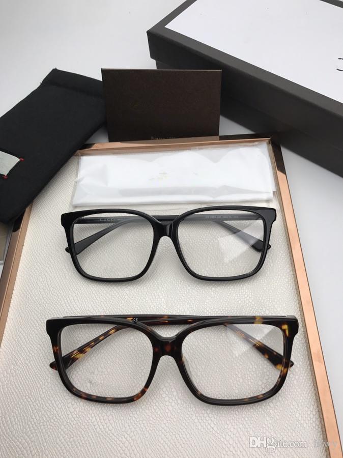 3f132ca2e93 2019 2018 New Optical Myopia Frame Neutral Glasses Box All Men And Women  The Cat S Eye Ultra Light Plank Flat Lens From Hlwy