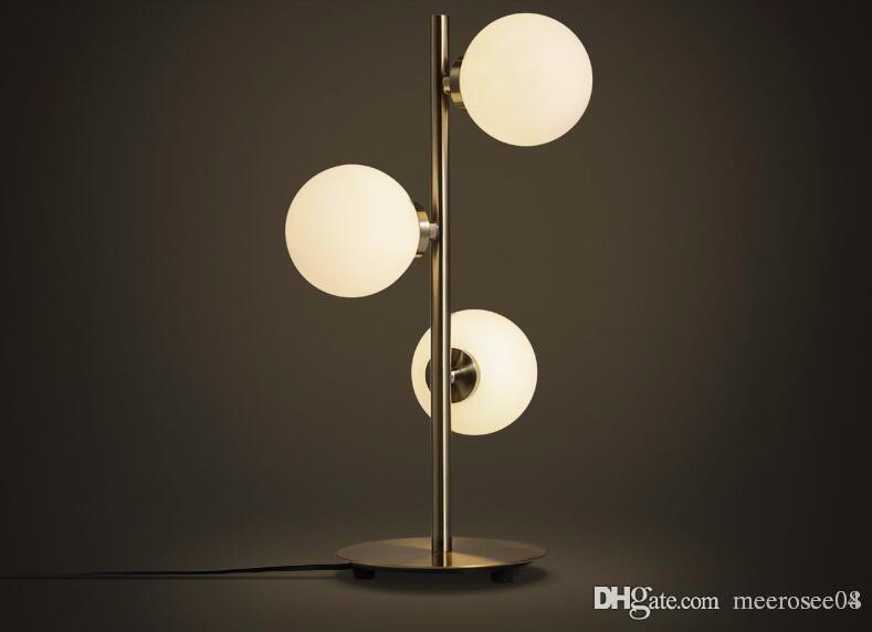 Acheter moderne lampe À bulles table classique style européen