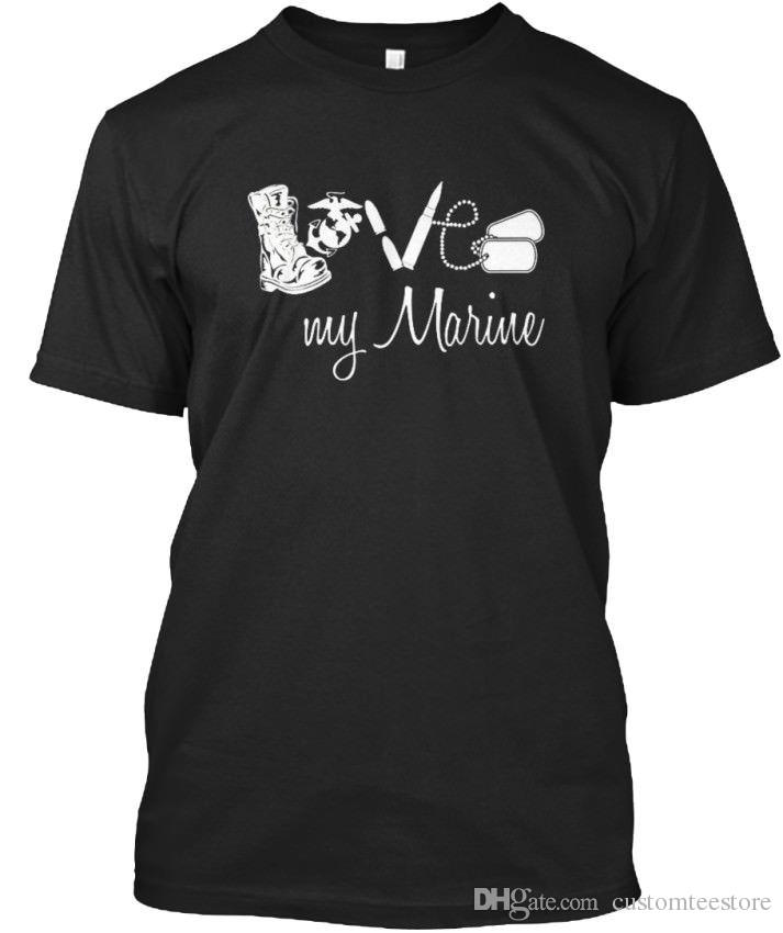 Marine t shirts for girlfriends