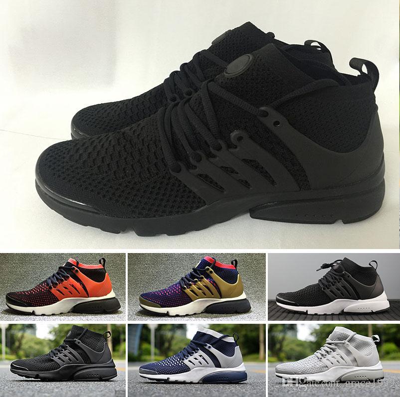 Nike Air Presto Flyknit Ultra, Herren Sneaker Mehrfarbig
