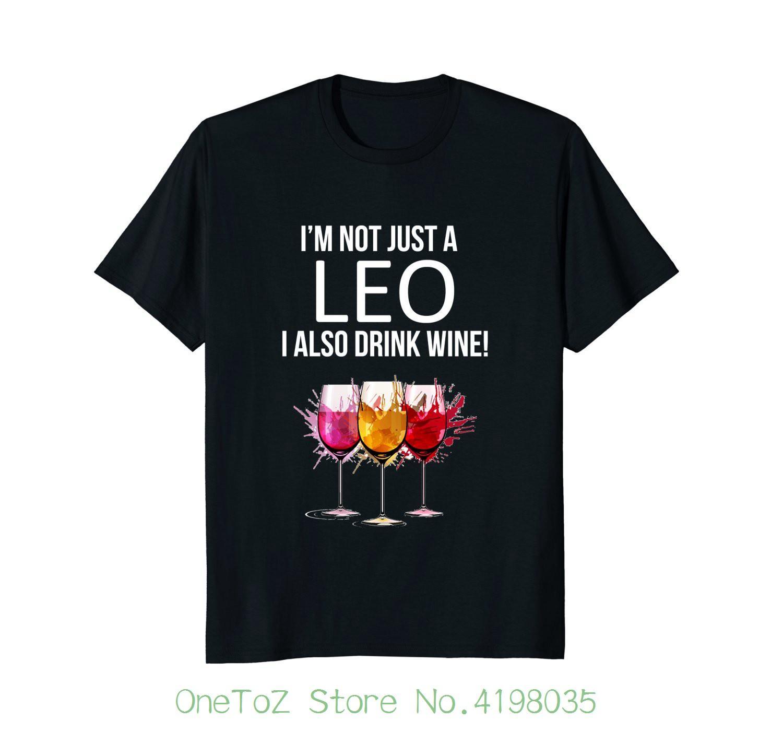 366017258c6b1 Compre Eu Não Sou Apenas Um Leo… Camiseta Vinho Do Vinho Do Zodíaco Que  Bebe O Orgulho Das Camisas Da Criatura T De Onetozstore