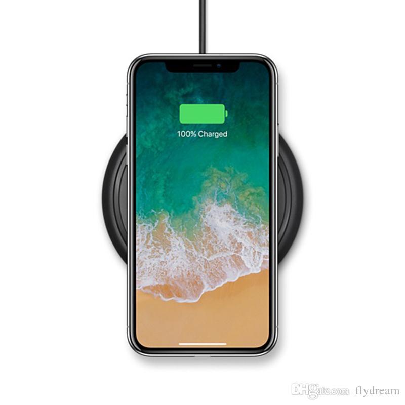 Iphone x 8 artı samsung s8 not 8 qi kablosuz şarj alıcısı modülü ve şarj pad cep telefonu şarj dock tabanı mini şarj pedi