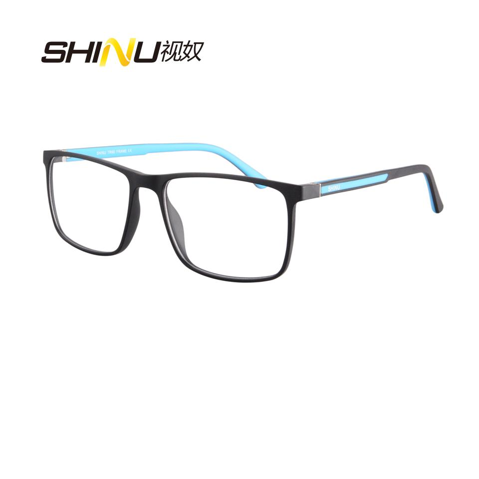 753a0be07e 2019 SHINU Brand Eyewear Frame UV400 Anti Blue Light Computer Glasses Game  Goggle Antifatigue Eyeglasses Frame Clear Lens Spectacles From Goodlines