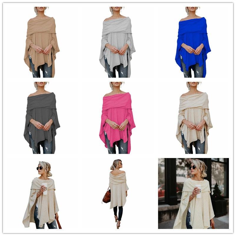 Women S Designer Clothing European Sexy Shoulder Shirt T Shirt Irregular  Brand Fashion Dresses For Womens Plus Size Long T Shirt S XL Clothes T  Shirt Crazy ... a701baacc