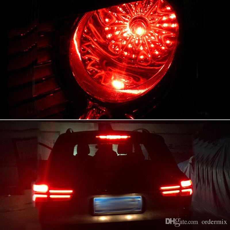1156 P21W 7056 BA15S 33 smd 5630 5730 levou luzes de Freio Do Carro lâmpada de nevoeiro auto lâmpada Reversa Daytime Running Luz vermelho branco amarelo 12 V
