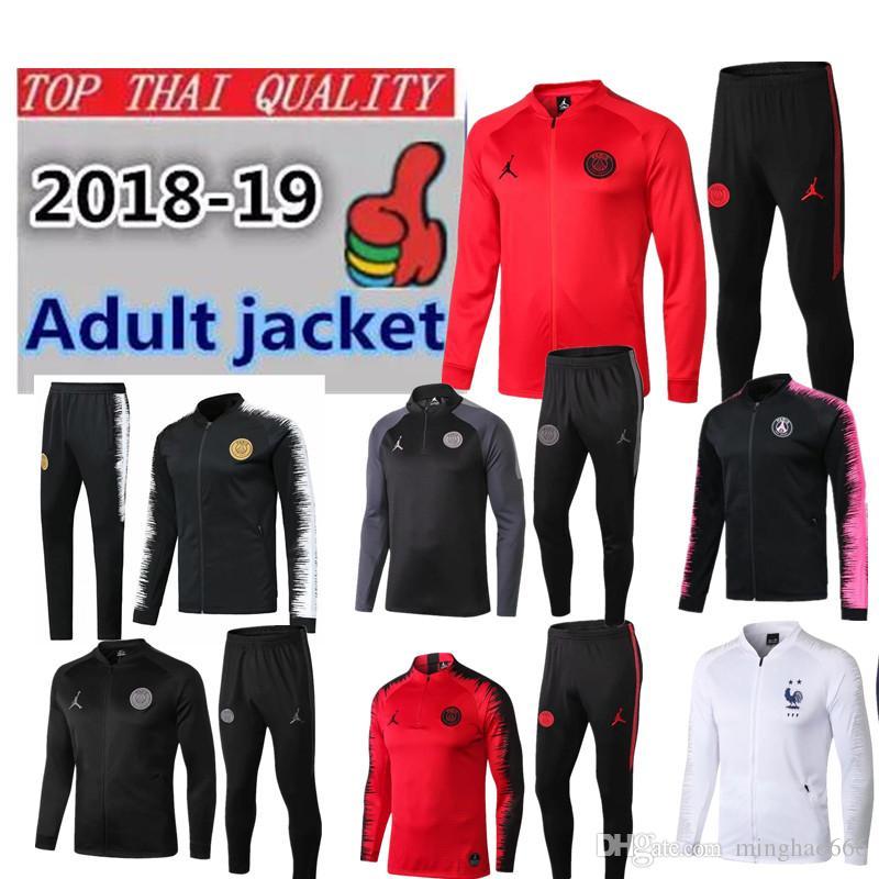 5b6ba68f2 2018 Champions League Paris Jordam Jacket Training Suit Survetement ...