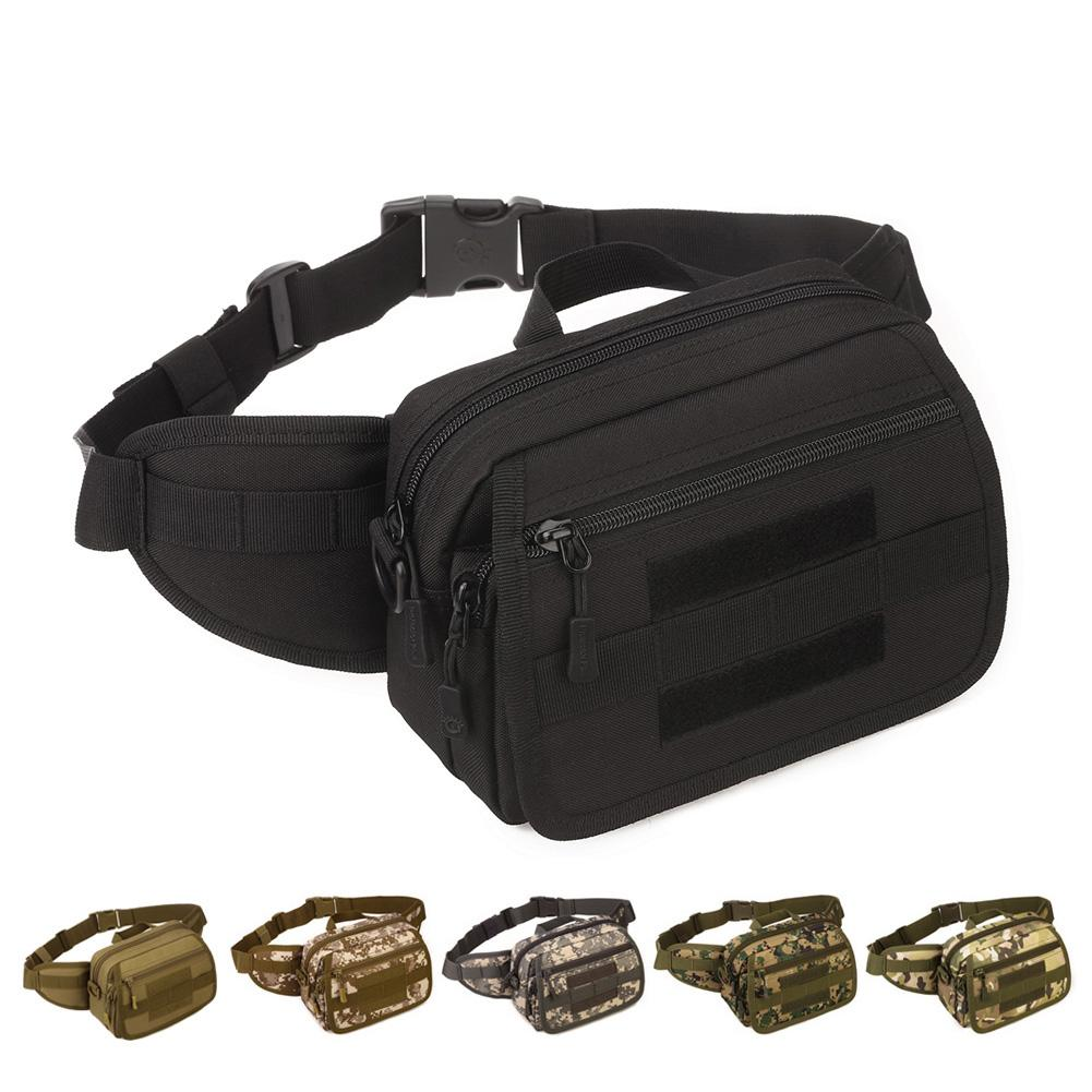 5a077dbfa3e3 2019 Tactical Waist Bag Outdoor Waterproof Detachable Belt Fanny Pack  Single Shoulder Bag For Traveling Hiking Climbing Riding From  Evertoner pro