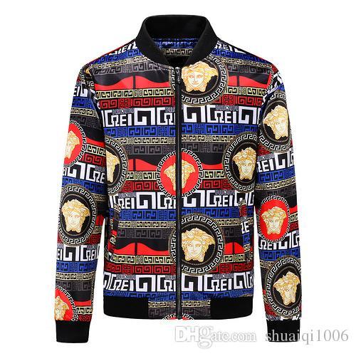 New Luxury Brand Men Coats Autumn Winter Men Fashion Jacket Vintage ... 489ebcf63