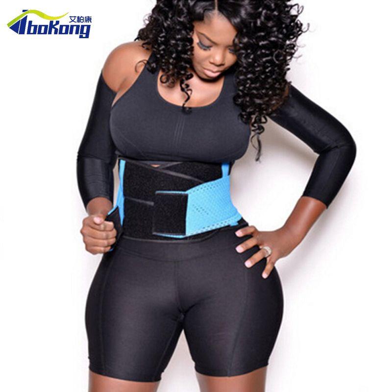 a63da15764ef6 2019 Women Mesh Waist Training Xtreme Power Belt Sport GYM Fitness Corset  Body Shaper Y1892612 From Shenping03