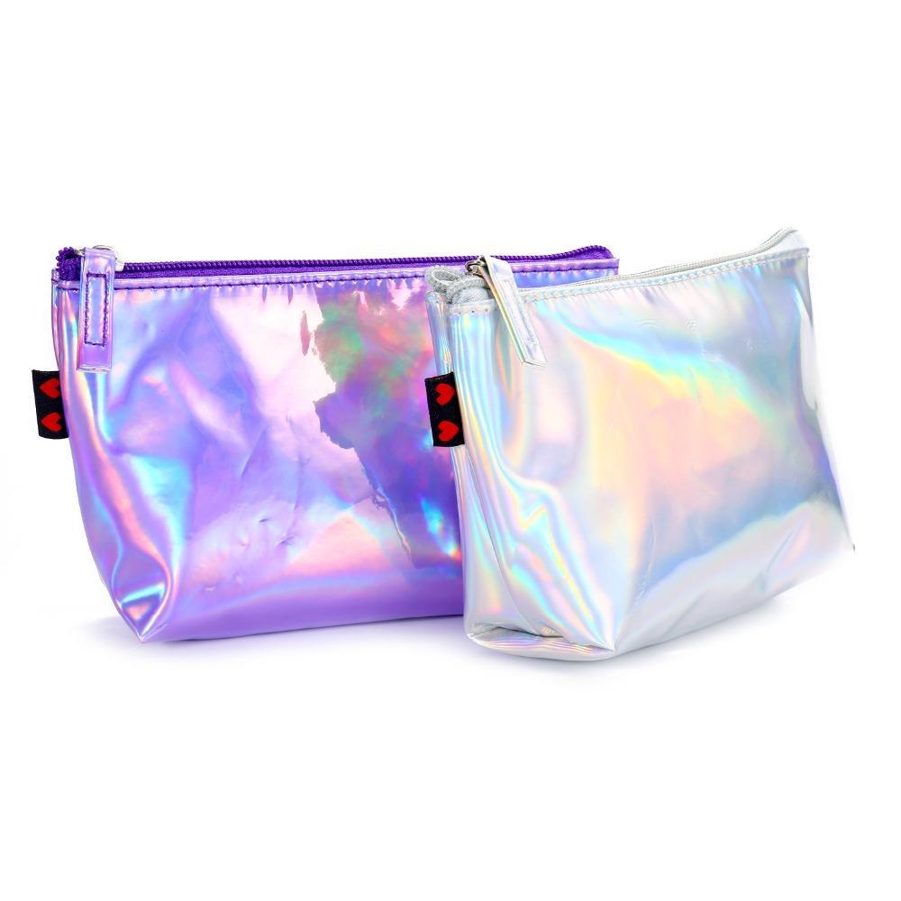 fd130b1c8a787 Satın Al AOEO Makyaj Çantası Hologram Kozmetik Çantası Durumda Kozmetik  Için Seyahat Çantası Holografik Makyaj Güzellik Kutusu, $22.69    DHgate.Com'da