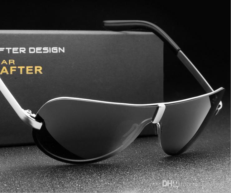High Quality Classic Pilot Polarized Sunglasses Men Women Brand Designer UV400 Outdoor Driver Sunglass Fashion Sun Glasses Cool kXPH4JU