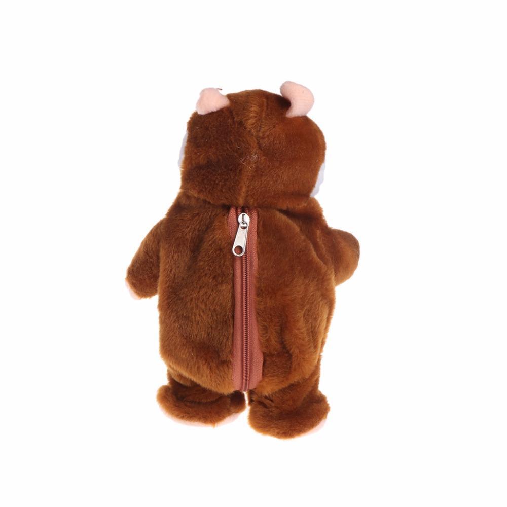 Toys & Hobbies Talking And Walking Hamster Sound Record Plush Toys Stuffed Speak Pet Gift Discounts Price