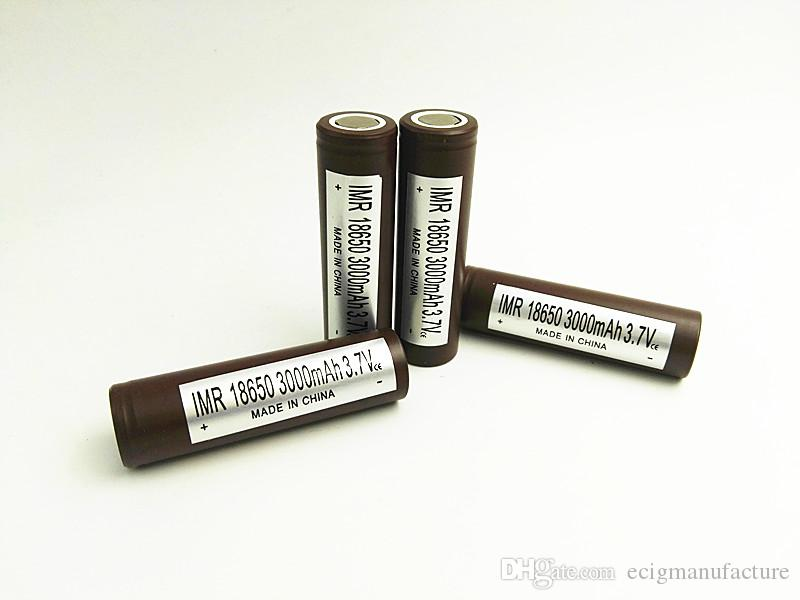 FEDEX Free 3000MAH 35A MAX Vape Battery VS 380mah max battery 18650  Rechargeable Batteries for mini starter kits Lithium Vape Battery
