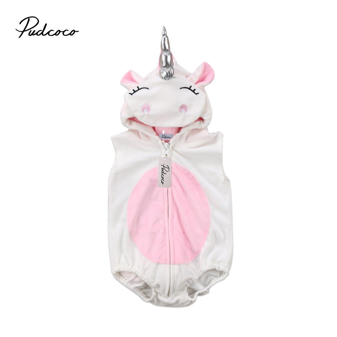 43dc3262572d 2019 2018 Brand New Toddler Infant Newborn Unicorn Baby Girls Fleece ...