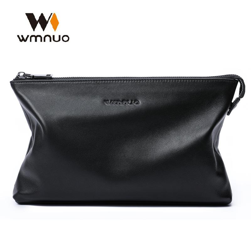 23ffe3a1a2ae Wmnuo Brand Men Bag Men Clutch Wallet Coin Purse Soft Cow Leather Hand Bag  Handbags 2018 Fashion Casual Ipad Phone Male Womens Credit Card Wallet  Branded ...