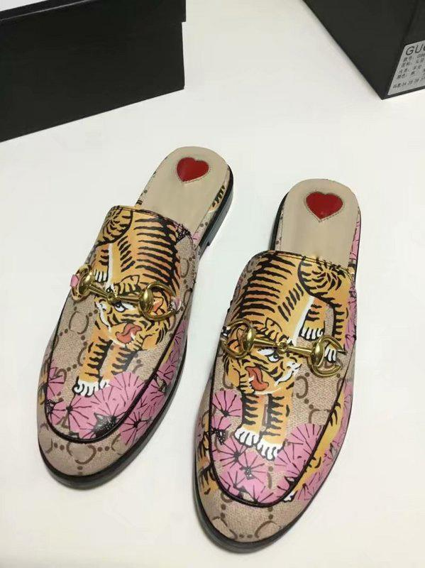 506c46f0dd1 Princetown Horsebit Embroidered Hawaiian Print Satin Women S Slippers Mules  Loafer Shoes Print Leather SlipperLuxury Brand Sandals 0G01 Kids Boots Men  Boots ...