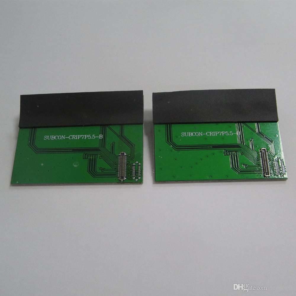 Lcd touch screen digitador display testador placa pbc conectar fpc para iphone 7 plus peças de reposição
