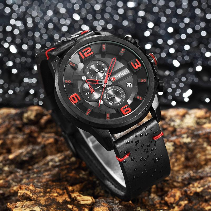 Relogio Masculino New Curren 8288 Mens Watches Top Brand Luxury Leather Men  Quartz Watch 2018 Casual Sport Clock Male Wristwatch Watches To Buy Buy  Online ... d84ac3ed85a