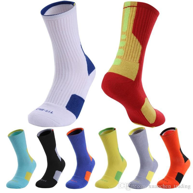 ad75551fdd2 2019 Professional Elite Basketball Socks In The Tube Athletic Sport Sock  Men And Women Towel Bottom Outdoor Sports Socks Wholesales From  Xuanchen trading