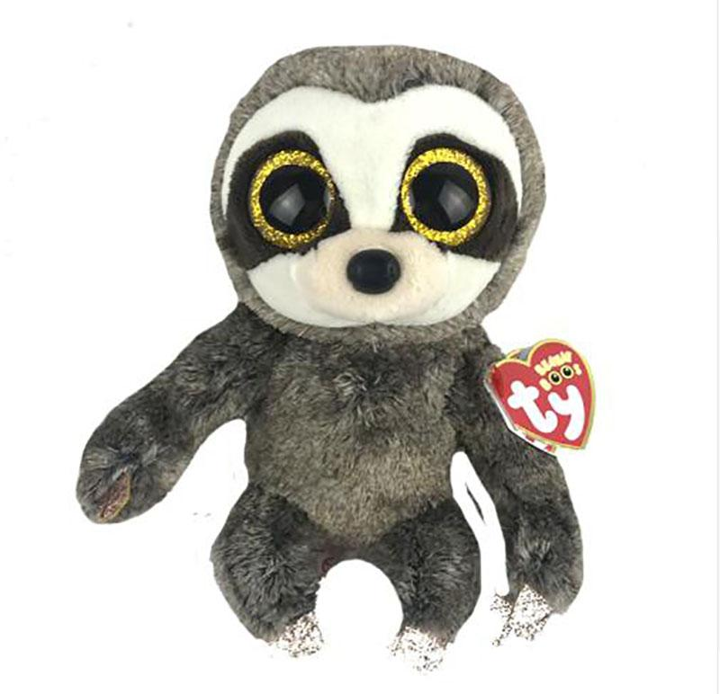 2019 Ty Beanie Boos 6 15cm Dangler The Sloth Plush Regular Soft Big