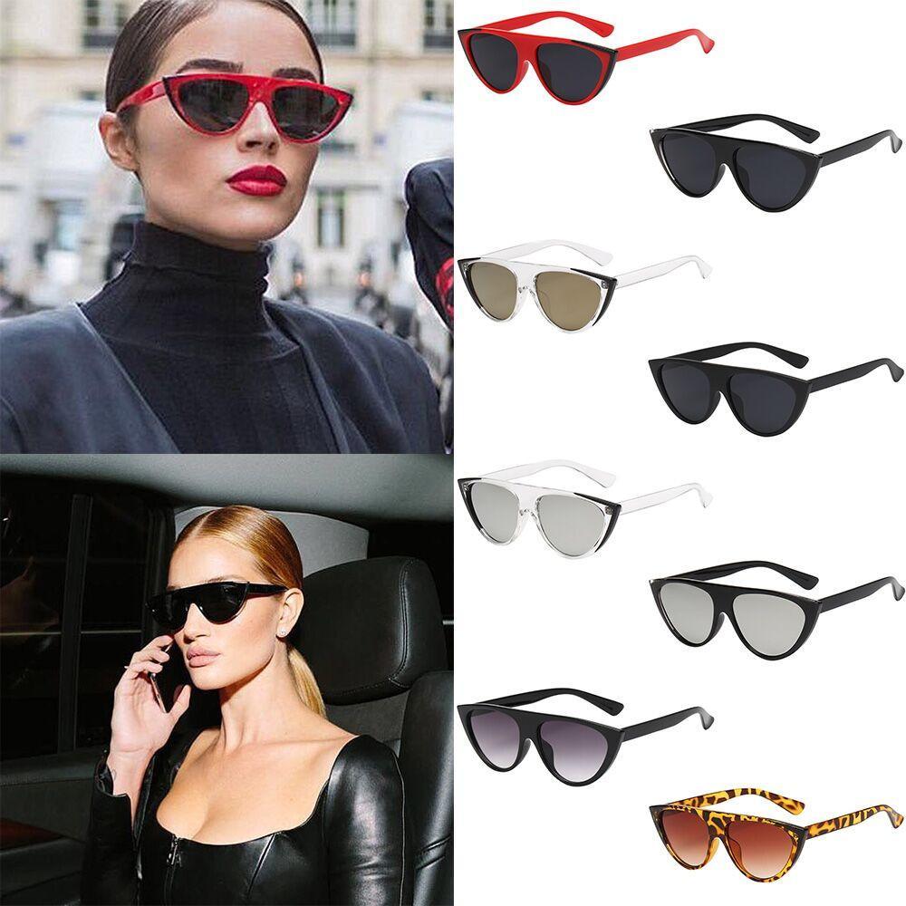 57867da7049 Sunglasses Men Women 2018 Women Vintage Cat Eye Sunglasses Retro ...