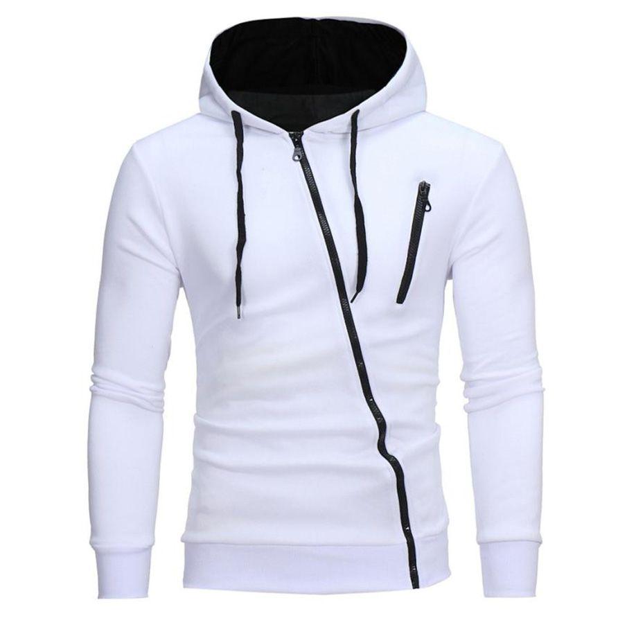 MUQGEW 2017 Autumn Fashion Casual Solid Hoodies Men women Polluver Sweatshirt  Men Hooded Hoodie Pullover Zipper Blouse Plus Size Fashion Hoodie Men  Hoodies ... e198d186aae3