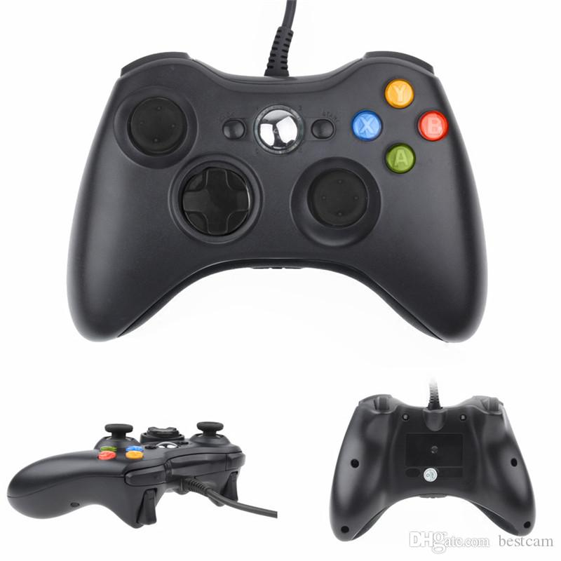 USB Wired Gamepad Controller für Microsoft Xbox 360 WII PS3 Slim PC Windows Joystick Gamepads für Spielliebhaber