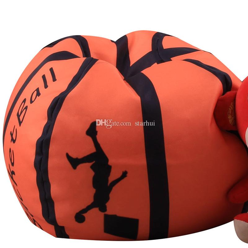 Hot Baseball Basketball Football Softball Storage Bags For Kids Baby Play Plush Stuffed Toys Blanket Towel Dress Up Organization Bag WX9-549