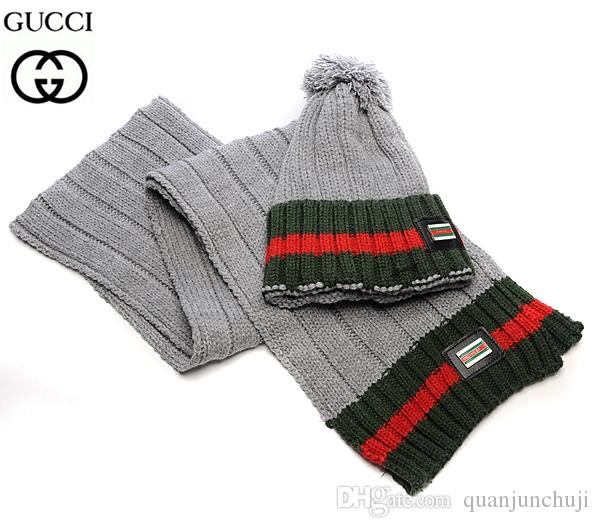 Women Knitted Winter Hats Scarves Sets Knitting Beanies Warm Skullies Cap  Accessories Christmas Scarves Sets Scarf Hats Online with  28.32 Piece on  ... 60050f3809